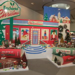 リボードでクリスマスディスプレイ