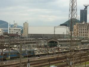 門司港駅 改修工事