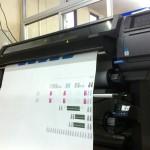 新しい出力機を買いました。HP Latex360