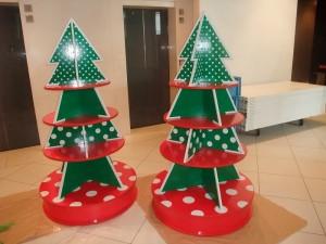 リボード クリスマスディスプレイ