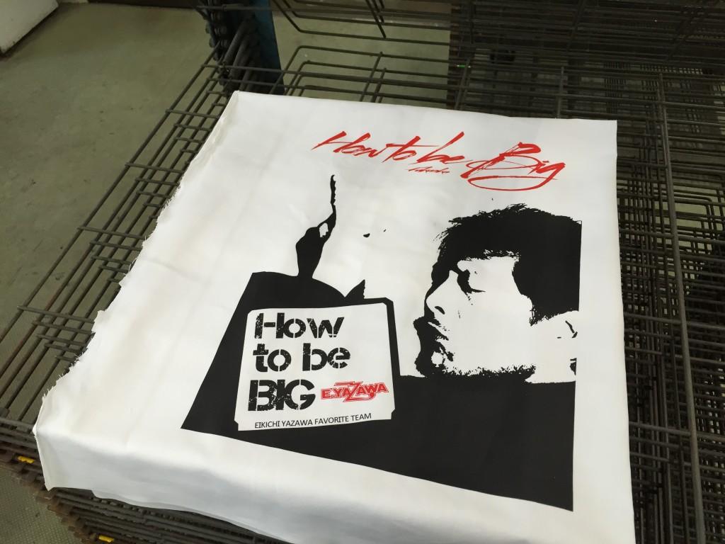 Tシャツ シルク印刷