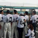 矢沢Tシャツの集合写真を送ってもらいました。