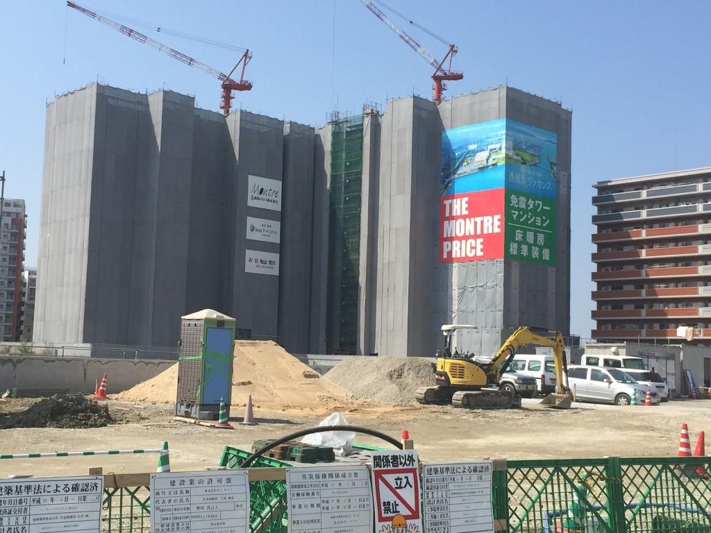 建設現場ターポリン幕