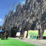 建設現場の足場シートを巨大メディアに変えるプロジェクト!